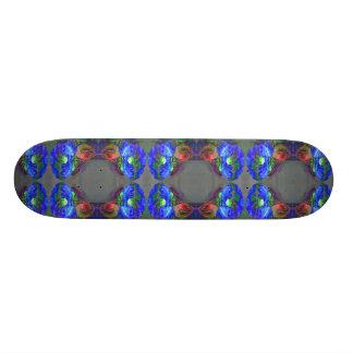 Blue Poppy Skate Board Deck