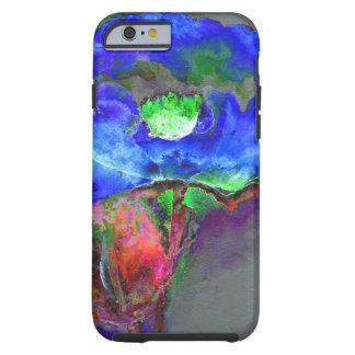 Blue Poppy Tough iPhone 6 Case