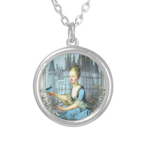 Blue Princess Necklace