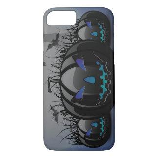 Blue Pumpkin halloween phone case