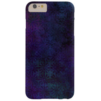 Blue & Purple Abstract, Grungy Digital Art Barely There iPhone 6 Plus Case
