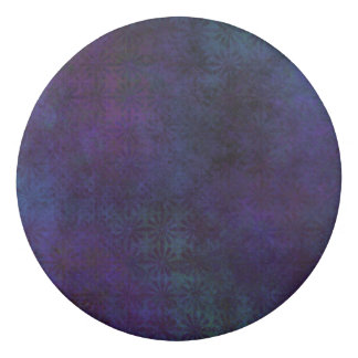 Blue & Purple Abstract, Grungy Digital Art Eraser