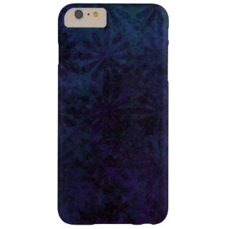 Blue & Purple Abstract, Grungy Digital Art, Remix Barely There iPhone 6 Plus Case