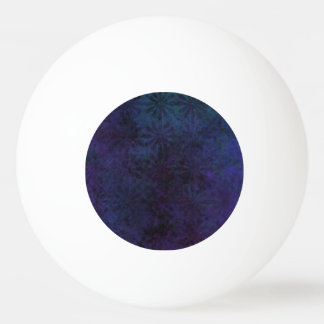 Blue & Purple Abstract, Grungy Digital Art, Remix Ping Pong Ball