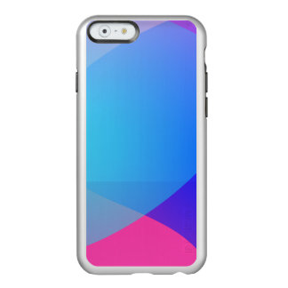 Blue Purple and Pink Minimalism Lake Incipio Feather® Shine iPhone 6 Case