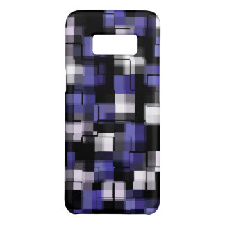 Blue Purple Black White Trendy Case-Mate Samsung Galaxy S8 Case