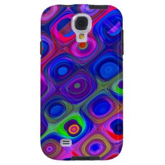 Blue Purple Funky Galaxy S4 Case