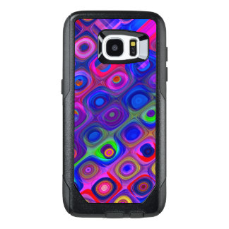 Blue Purple Funky OtterBox Samsung Galaxy S7 Edge Case