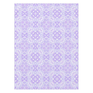 Blue Purple Garden Floral Tablecloth