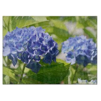Blue Purple Hydrangea Cutting Boards