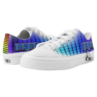 Blue purple lavender Hip Hop Style Sneakers