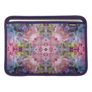 "Blue Purple Mandala Macbook Air 11"" Horizontal Sleeve For MacBook Air"