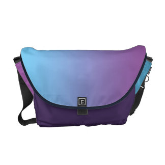 Blue & Purple Ombre Commuter Bag
