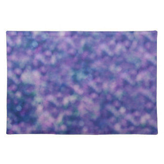 Blue Purple Pink Trendy Cool Chic Placemat