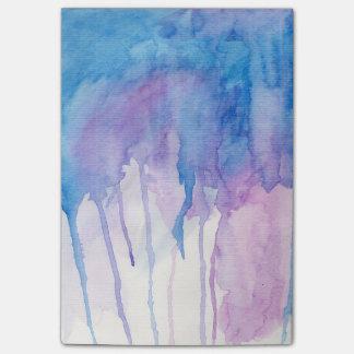 Blue & Purple Watercolor | Notepad