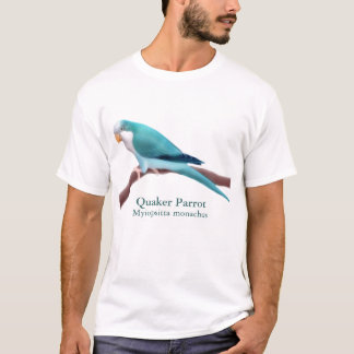 Blue Quaker Parrot T-Shirt