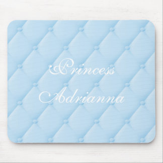Blue Quilted Pretty Princess Cinderella Mouse Pad