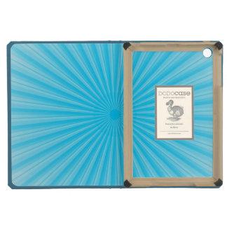 Blue Radial Sun Pattern iPad Mini Retina Case