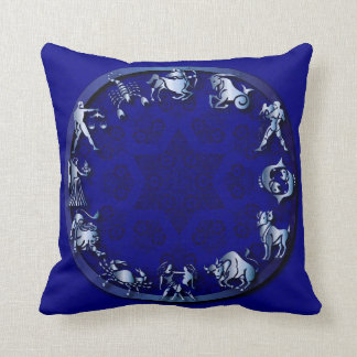 Blue Radiance Zodiac - Pillow