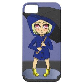 Blue Rainbow Kid Phone iPhone 5 Covers