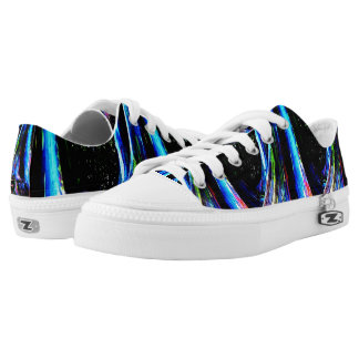 BLUE RAINBOW shoes Printed Shoes