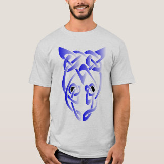 Blue Rat Head Knot T-Shirt