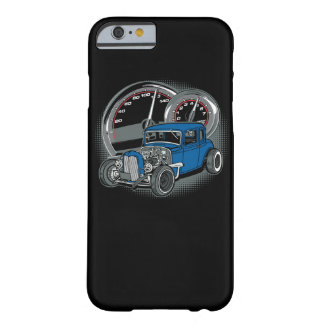 Blue Rat Rod Street Car Barely There iPhone 6 Case