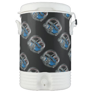 Blue Rat Rod Street Car Cooler
