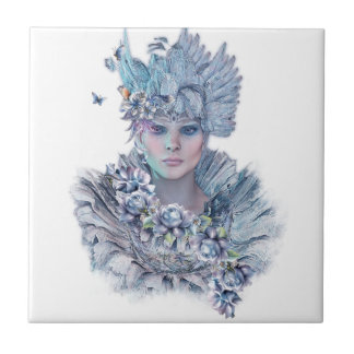 Blue Raven Ceramic Tile