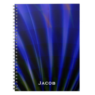 Blue Rays Personalized Notebook