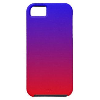 Blue Red Gradient Tough iPhone 5 Case