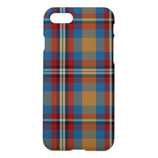 Blue Red Rust Giant Tartan Plaid iPhone 8/7 Case