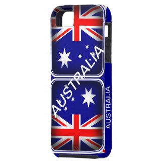 Blue Red & White Australia Iphone 5 Case