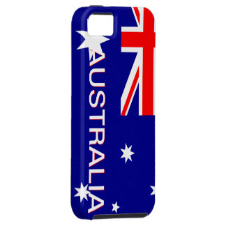 Blue Red & White Australia Iphone 5 Case
