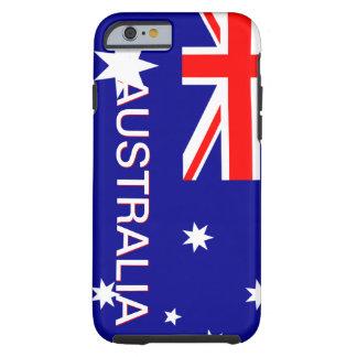 Blue Red & White Australia iPhone 6 case