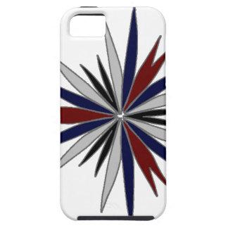 Blue Red White Star Design iPhone 5 Case