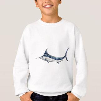 Blue-redbubble Marlin Sweatshirt