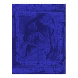 Blue Reflections I Postcards