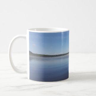 Blue Reflections of Rhossili Bay Mug