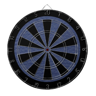 Blue Retro Grunge Custom Leather  This is an aweso Dartboard