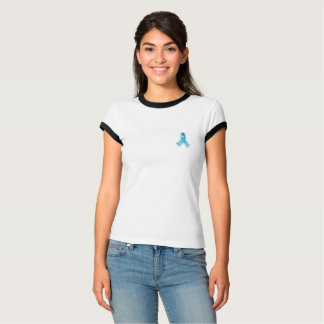 Blue ribbon awareness shirt