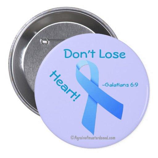 Blue Ribbon Pinback Buttons
