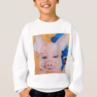 Blue Ribbon Pig Sweatshirt