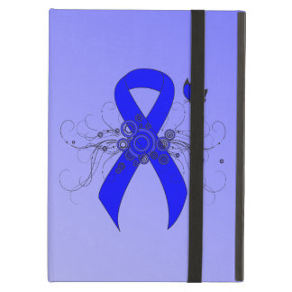 Blue Ribbon with Butterfly iPad Air Cover