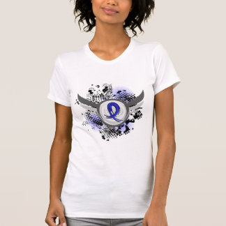 Blue Ribbon With Wings CFS Tee Shirt
