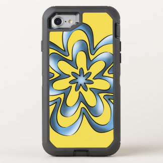 Blue ribbons OtterBox defender iPhone 8/7 case