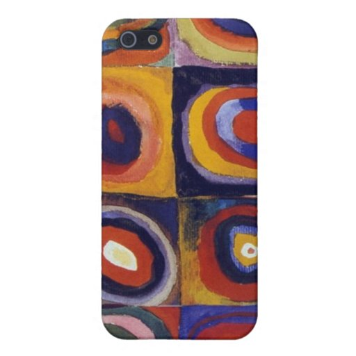 Blue Rider by Wassily Kandinsky Cover For iPhone 5