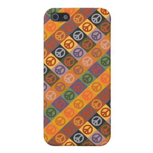 Blue Rider by Wassily Kandinsky, Peace Sign Cover For iPhone 5