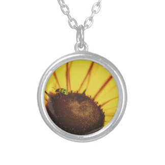 Blue Ridge Black-Eyed Susan Silver Plated Necklace