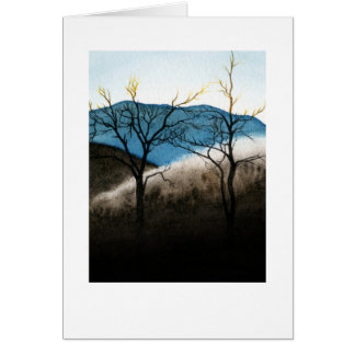 Blue ridge frozen rain card